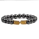 Natural Stone Fashion Geometric bracelet  blue NHYL0137blue