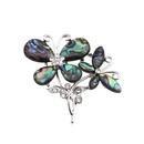 Alloy Fashion Bows brooch  Flower NHYL0161Flower