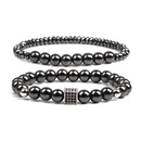 Natural Stone Fashion Geometric bracelet  alloy NHYL0167alloy