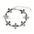 Alloy Simple Flowers bracelet  butterfly NHYL0176butterfly