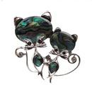 Alloy Fashion Animal brooch  Cat NHYL0184Cat