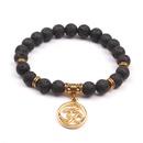 Alloy Fashion Geometric bracelet  Volcanic stone NHYL0190Volcanicstone