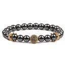 Natural Stone Fashion Geometric bracelet  alloy NHYL0191alloy