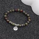 Alloy Fashion Geometric bracelet  green NHYL0196green