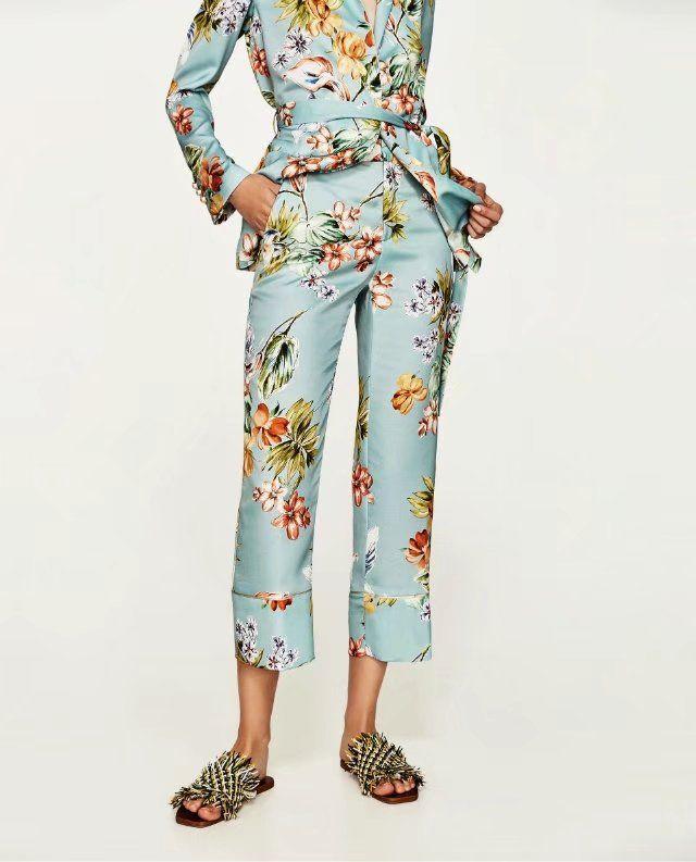 Chiffon Fashion  pants  (Picture color-S) NHAM5131-Picture-color-S