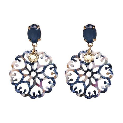 Plastic Fashion Flowers earring  (blue) NHJJ5212-blue's discount tags