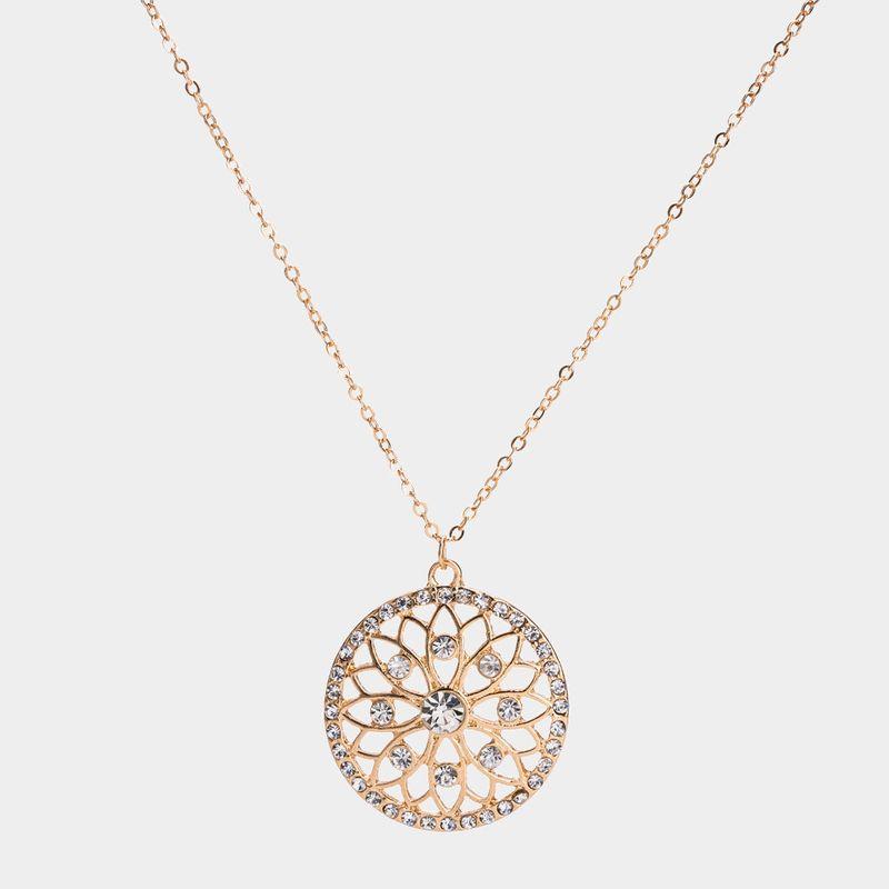Alloy Fashion Geometric necklace  (Alloy) NHYT1200-Alloy