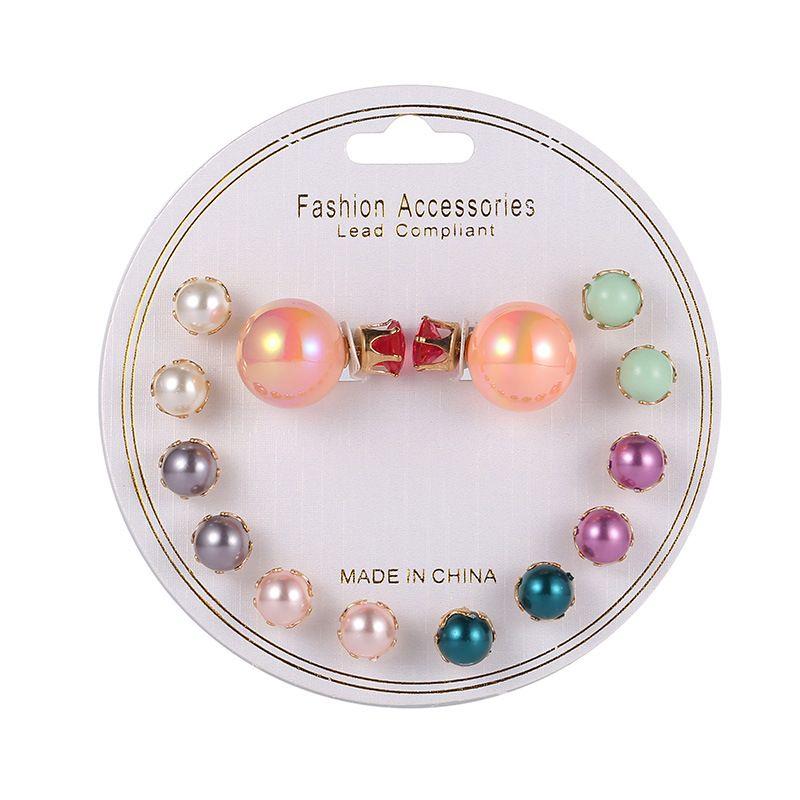 Plastic Korea Geometric earring  E00904 NHSD0397E00904