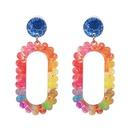 Plastic Fashion Geometric earring  color NHJJ5205color