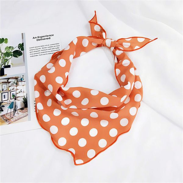 Alloy Korea  Scarf  (1 big wave orange) NHMN0070-1-big-wave-orange