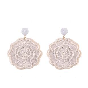 Alloy Fashion Flowers earring  (white) NHJQ10789-white's discount tags