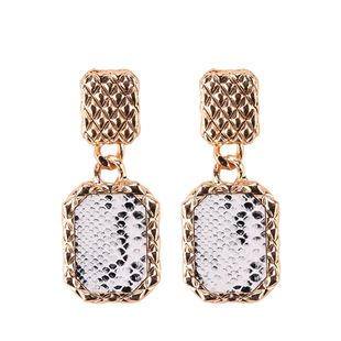 Alloy Fashion Geometric earring  (white) NHJQ10792-white's discount tags