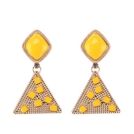 Alloy Fashion Sweetheart earring  (yellow) NHJQ10795-yellow's discount tags