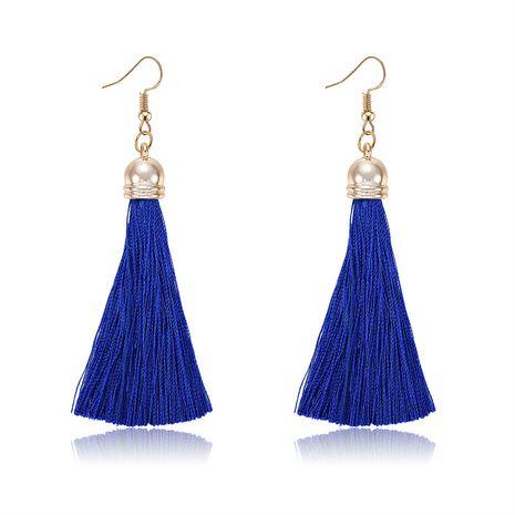 Alloy Bohemia Tassel earring  (61189533 sapphire blue) NHXS1827-61189533-sapphire-blue's discount tags
