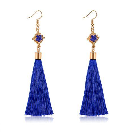 Alloy Bohemia Tassel earring  (61189556 sapphire blue) NHXS1842-61189556-sapphire-blue's discount tags