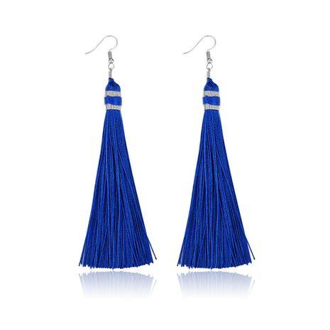 Alloy Bohemia Tassel earring  (61189527 sapphire blue) NHXS1845-61189527-sapphire-blue's discount tags