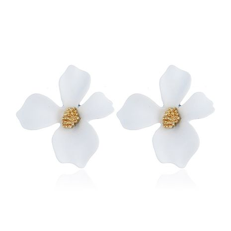 Alloy Korea Flowers earring  (white) NHNZ0965-white's discount tags