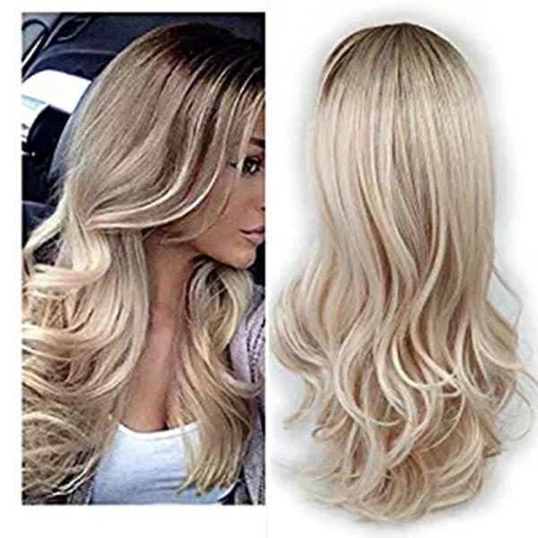 High-Temperature Celebrity Wavy wig  (Om-037-2) NHNF0024-Om-037-2