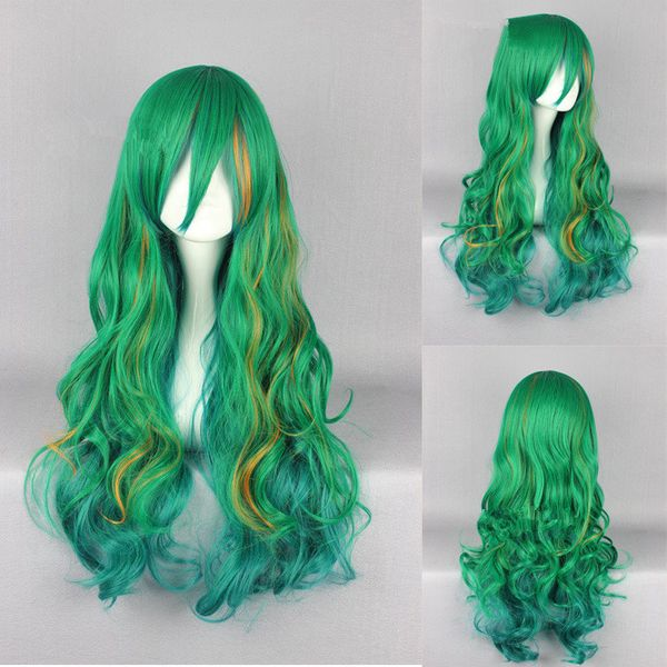 High-Temperature Cosplay Wavy wig  (Jf-108-picture) NHNF0026-Jf-108-picture