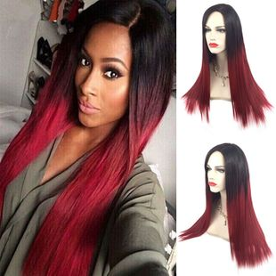 High-Temperature Fashion Straight wig  (Rose-OM-021) NHNF0044-Rose-OM-021's discount tags