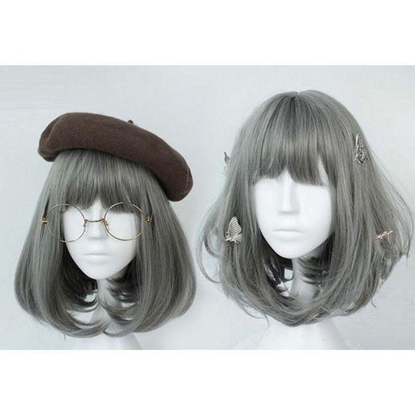 High-Temperature   wig  (Smoke gray) NHNF0053-Smoke-gray