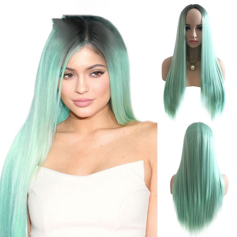 High-Temperature Fashion Straight wig  (Rose - picture color) NHNF0078-Rose-picture-color