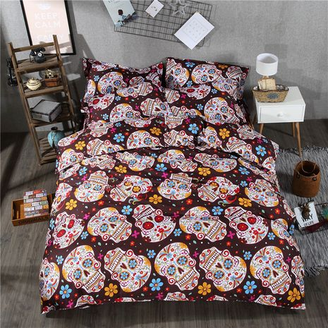 Cloth Fashion Skeleton Skull quilt  (Nt001-1.5*2.0) NHSK0481-Nt001-1.5*2.0's discount tags