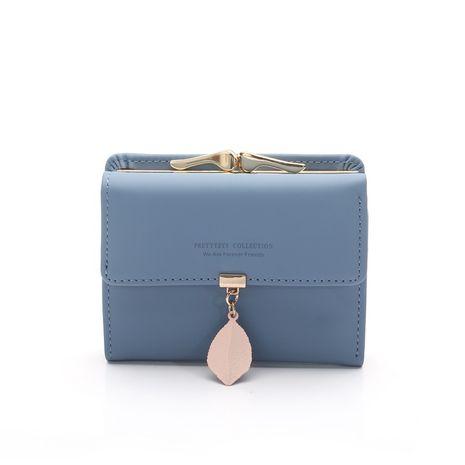 Portefeuille PU Corée (Bleu marine) NHNI0382-Bleu marine's discount tags
