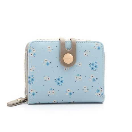 Portefeuille PU Corée (bleu) NHNI0390-bleu's discount tags