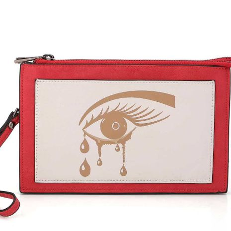 Portefeuille Fashion PU (rouge) NHNI0392-rouge's discount tags