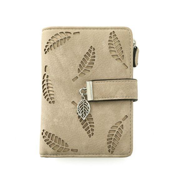 PU Vintage  wallet  (Khaki) NHNI0394-Khaki