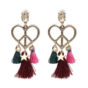 Cloth Fashion Sweetheart earring  (color) NHJJ5214-color's discount tags