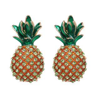 Alloy Fashion Geometric earring  (green) NHJJ5217-green's discount tags
