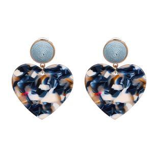 Plastic Fashion Sweetheart earring  (blue) NHJJ5234-blue's discount tags
