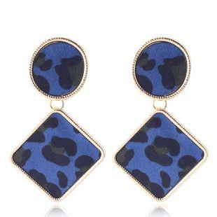 Alloy Fashion Geometric earring  (blue) NHMD4768-blue's discount tags