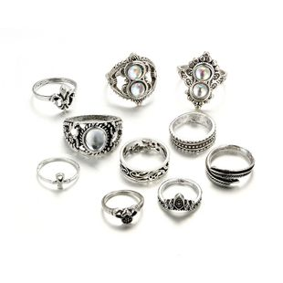 Alloy Vintage Geometric Ring  (Alloy) NHGY2576-Alloy's discount tags