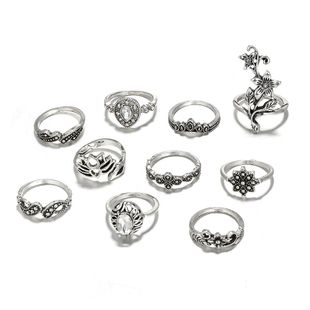 Alloy Fashion Flowers Ring  (Alloy) NHGY2577-Alloy's discount tags