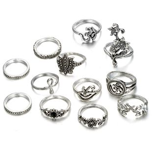 Alloy Fashion Flowers Ring  (Alloy) NHGY2579-Alloy's discount tags