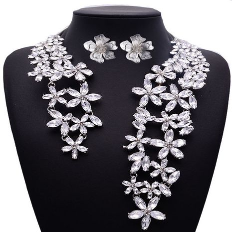 Alloy Fashion  necklace  (white) NHJQ10821-white's discount tags