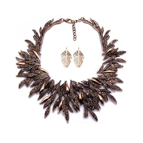 Alloy Bohemia  necklace  (Alloy) NHJQ10824-Alloy