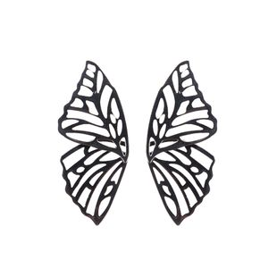 Alloy Fashion Bows earring  (black) NHJQ10831-black's discount tags