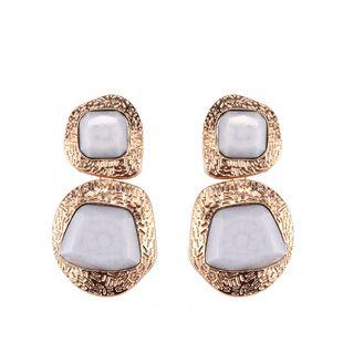 Alloy Fashion Geometric earring  (white) NHJQ10836-white's discount tags