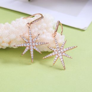 Copper Fashion Geometric earring  (Photo Color) NHQD5700-Photo-Color's discount tags