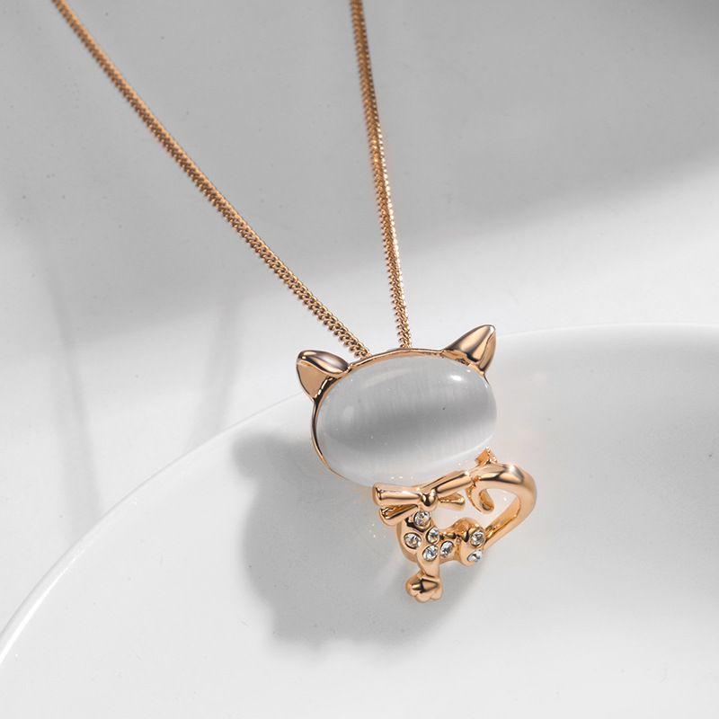Alloy Korea Geometric necklace  Rose alloy NHLJ4152Rosealloy