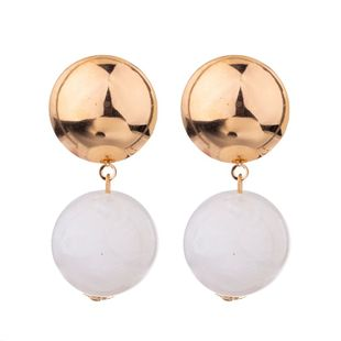 Alloy Fashion Geometric earring  (white) NHKC1165-white's discount tags