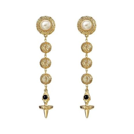 Alloy Fashion Flowers earring  (Alloy) NHNT0661-Alloy's discount tags