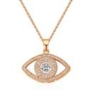 AAA Zircon Smart Necklace  Eye of Smart Rose Alloy NHKSE29294