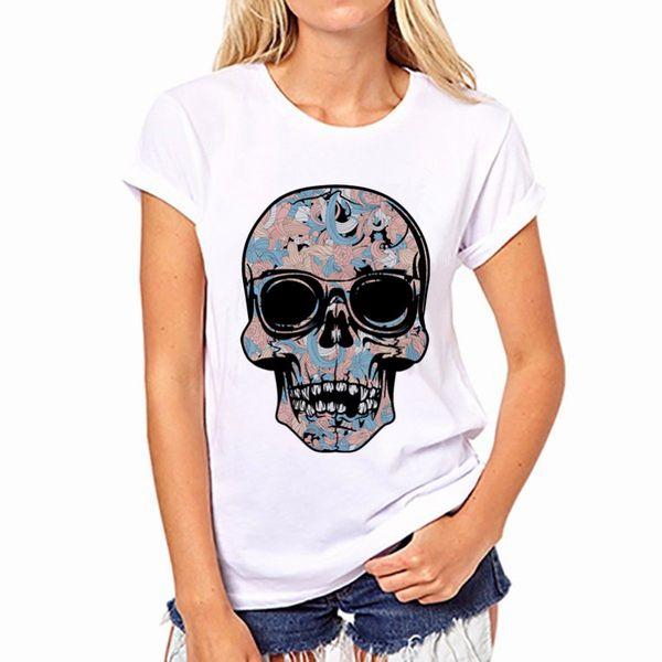Polyester Fashion  T-shirt  (white-XS) NHSK0500-white-XS
