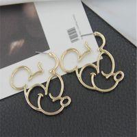 Alloy Korea Cartoon earring  (Alloy) NHBQ1835-Alloy