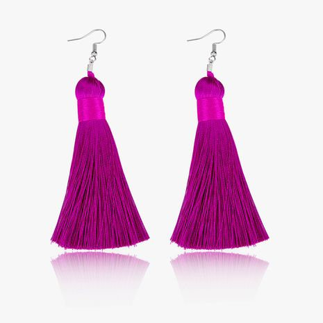 Alloy Fashion Tassel earring  (61189521B) NHLP1238-61189521B's discount tags